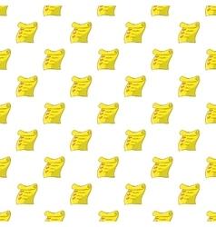 List pattern cartoon style vector image