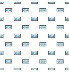 marine stamp pattern vector image