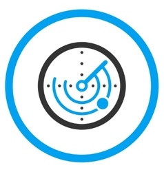 Radar Flat Icon vector