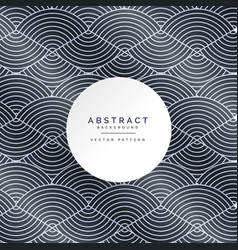 Stylish abstract line pattern background vector