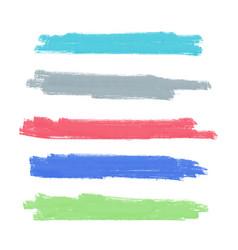 Watercolor brush stroke background design vector