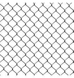 Realistic Steel Netting vector image