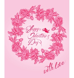 flower card 3 380 vector image