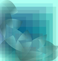 Abstract background blue pattern geometric vector