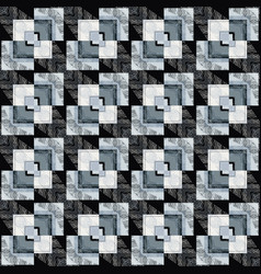 abstract check geometric seamless pattern vector image