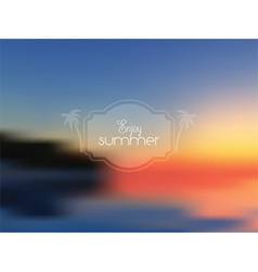abstract summer background 1407 vector image