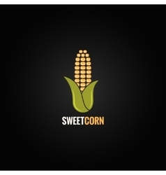 corn design background vector image