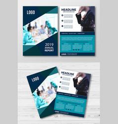 Creative corporate business flyer template vector
