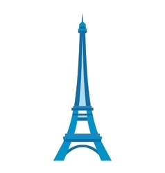 Eiffel tower in Paris vector image