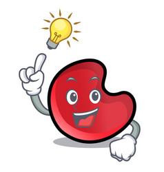 Have an idea candy moon mascot cartoon vector