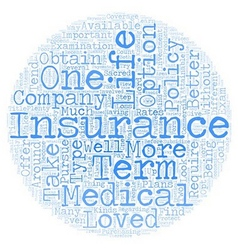 How To Find No Medical Life Insurance Rates text vector