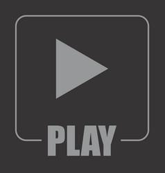 Play symbol vector