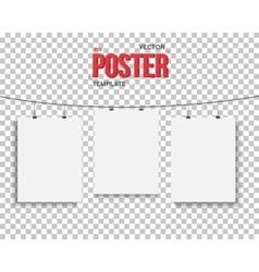 Poster Mockup Set Realistic EPS10 vector