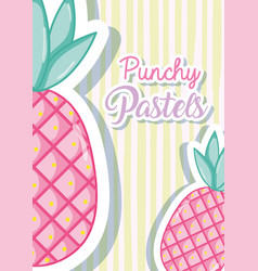 Punchy pastel trendy concept vector