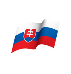 Slovakia flag vector