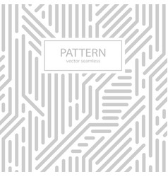 Striped seamless geometric pattern vector