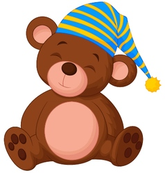 Sweet teddy bear vector