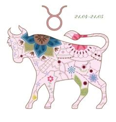 Taurus vintage vector image