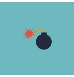 Bomb icon Flat Eps 10 vector