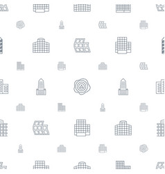 Distribution icons pattern seamless white vector