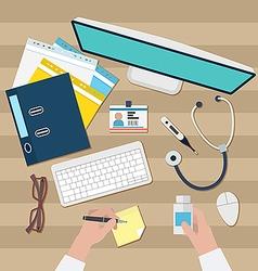 Doctor workspace vector