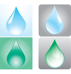 drops vector image
