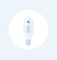 Medical thermometer icon on white vector