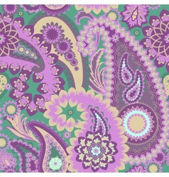 Paisley Colorful Background vector