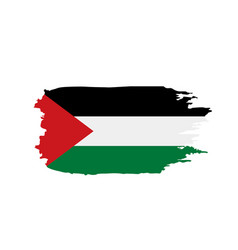 Palestine flag vector