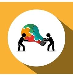 Teamwork icon design vector