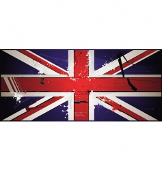 The british flag vector