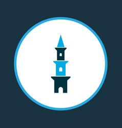 Tower icon colored symbol premium quality vector
