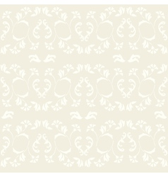 vintage ornate seamless pattern vector image vector image