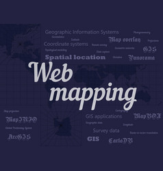 Web mapping vector