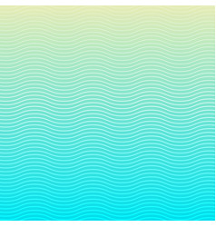 white wave lines pattern on blue background and vector image