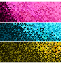 Abstract Light Brilliant Banner vector image vector image