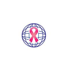 cancer logo vector image