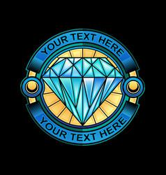 Jewel logo design vector
