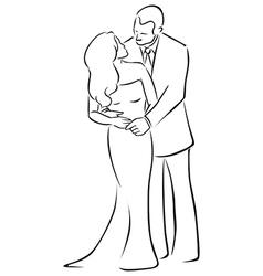 Man and woman vector
