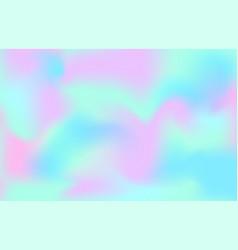 pearlescent texture background mermaid unicorn vector image