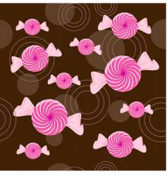 candy background vector image