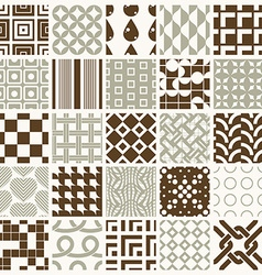Collection of abstract seamless compositions best vector image