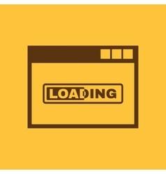 Loading icon design loading symbol web vector image