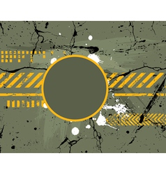 Army grunge background vector