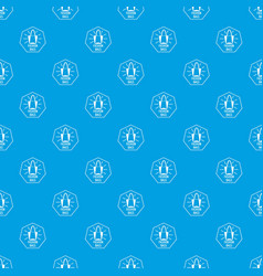 fashion bags pattern seamless blue vector image