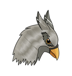 griff creature animal bird mythical image vector image