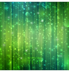 Holiday green background with sparkles vector