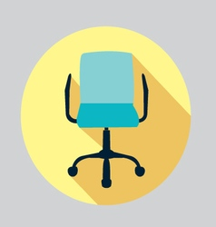 Icon of a chair Office chair vector