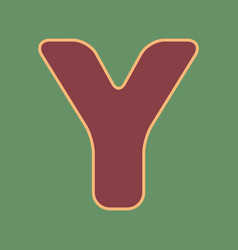 Letter y sign design template element vector