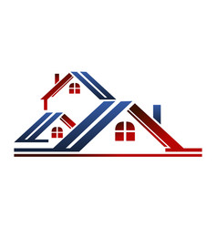 real estate solution vector image